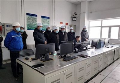 生态环境厅田丰副厅长一行领导莅临新能源(集团)准东环境万博官网manbetapp